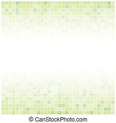 vert, centre, fond, fané