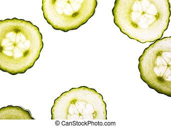 vert, concombre