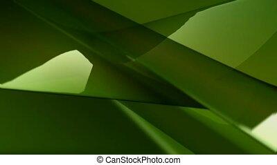 vert, couler