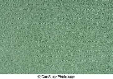 vert, cuir, fond