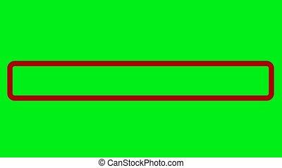 vert, entrer, mot passe, écran