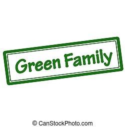 vert, famille