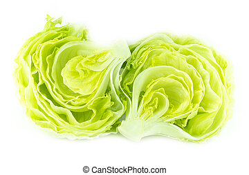 vert, laitue iceberg