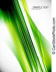 vert, lignes, fond