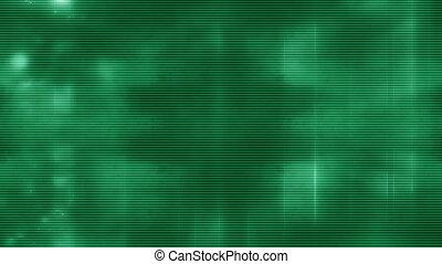 vert, lignes
