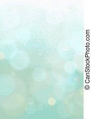 vert menthe, gradient, hiver, noël, fond