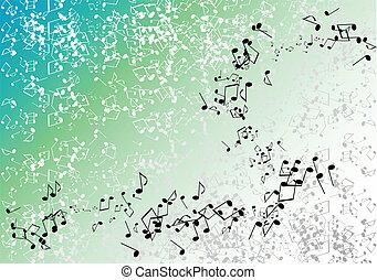 vert, musique