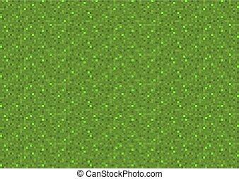vert, pixel, fond