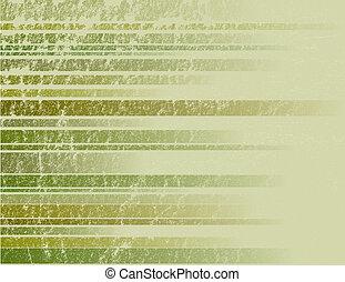 vert, rayé, grunge, fond