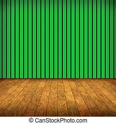 vert, salle