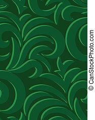 vert, seamless, fond