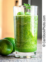 vert, smoothie