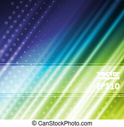 vert, soie, arrière-plans, tissu