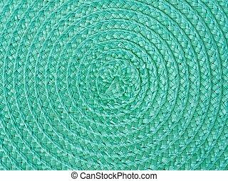vert, spirale, fond