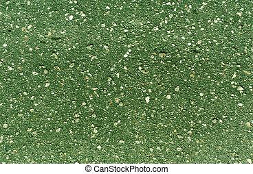 vert, surface., asphalte