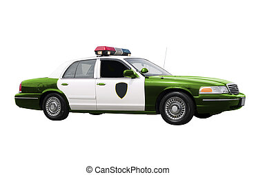 vert, surveiller voiture