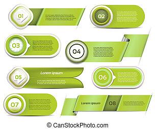 vert, vecteur, ensemble, progrès