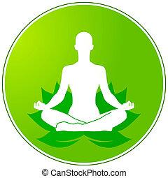 vert, yoga