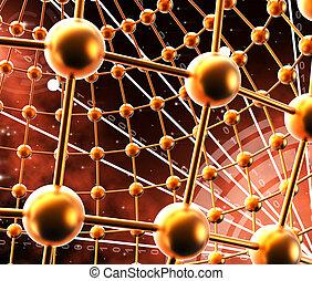 vertegenwoordigt, netwerk, communicatie, globaal, achtergronden, bolen