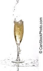 verter champán