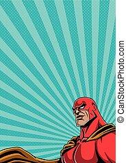 verticaal, 2, superhero