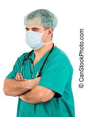 verticaal, chirurg