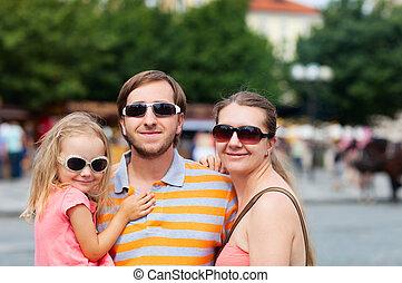 verticaal, gezin