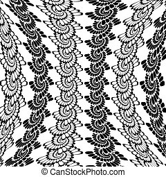 verticaal, spiraal, warped, ontwerp, achtergrond, monochroom
