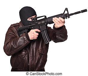 verticaal, terrorist