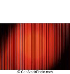 vertical, abstratos, experiência listrada, vermelho