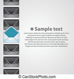 Vertical background writing art banner. Vector illustration