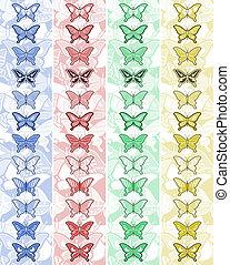 Vertical banner color