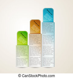 vertical banners with sample text