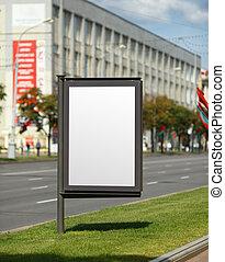 Vertical billboard