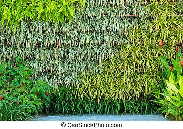vertical, jardín