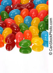 vertical Jelly Beans - reflection of jelly beans vertically
