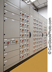 Motors control center electric panel board