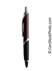 Vertical Pen on a white b