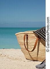 vertical picture of beach bag - vertical picture of the ...