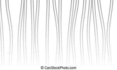 vertical, résumé, vidéo, fond, bas, gris, contraster, film, lignes, argent, onduler, arrière-plan., lumière