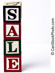 vertical sale children blocks