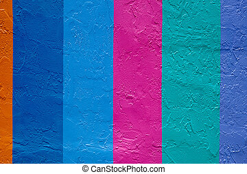 Vertical stripes. - Vertical stripes, bright colors.