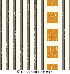 verticale, astratto, nero, quadrato, oro, seamless, fondo, striscia, pattern.