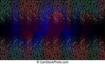 verticale, viola, molti, astratto, zebrato, sfondo scuro
