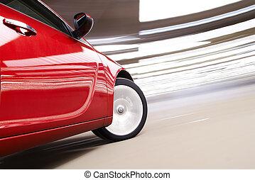 vertigo, automobilen