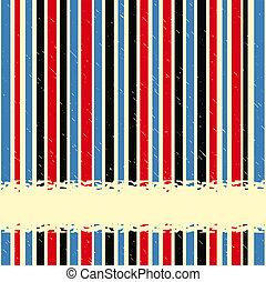 vertikal, vinhøst, striber, space., vektor, baggrund, kopi