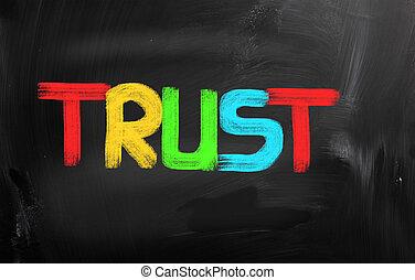 vertrauen, begriff