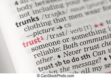 vertrouwen, definitie