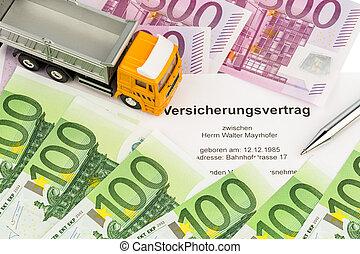 vertsicherungsvertrag for new trucks