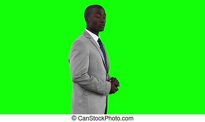 vervaardiging, presentatie, zakenman